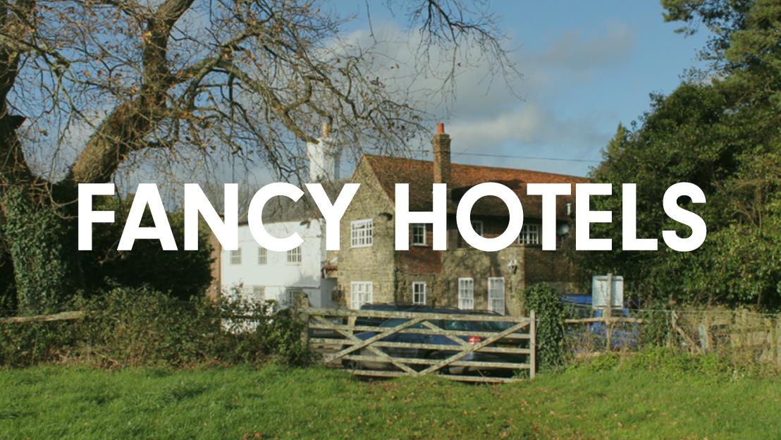 Fancy hotels